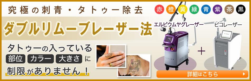 究極の刺青タトゥー除去